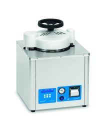Autoclave verticale semi-automatica per solidi e liquidi AES-12