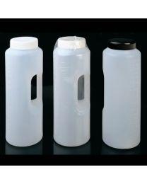 Flacone cilindrica graduata con manico