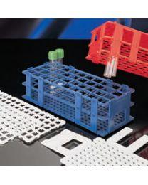 Rack rimovibili a fori quadrati con identificazione alfanumerica