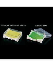 Rack Isofreeze con gel refrigerante indicatore di temperatura 2 unità