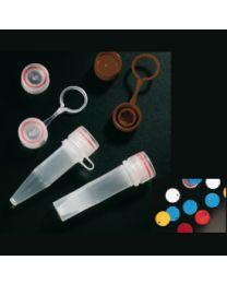 Tappo a vite per microtubo 11 x 44 mm