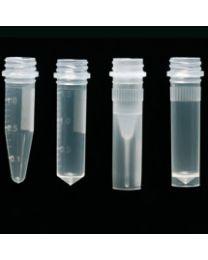 Microtubo a vite privi di DNAsa, RNAsa e pirogeni