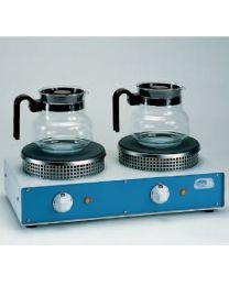 Piastra circolare doppia per temperature Duplac