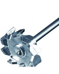 Asta di agitazione turbina radiale 50 mm Ø