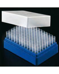 Sistema di archiviazione per provette 1,2 ml blu