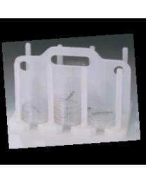 Rack per incubazione e trasporto di piastre Rodac
