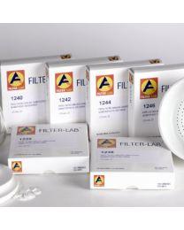 1250 Carta da filtro qualitativa media basso contenuto di ceneri