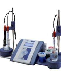pHmetro & Ión-metro kits GLP 22 da banco con elettrodi