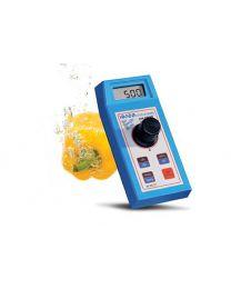 Fotometro del cloro libero e totale alte concentrazioni Hi 95771C