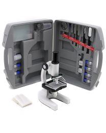 Microscopio monoculare con valigetta e accessori SFC-3ACase